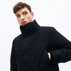 Lacoste, Raincoat, Jackets, Fashion, Faux Fur, Mantle, Rain Jacket, Down Jackets, Moda
