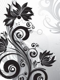 Download Black And Wyt Wallpaper