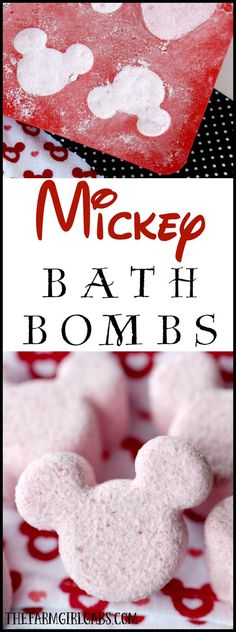 These DIY Mickey Mouse Bath Bombs are the perfect way to relax, unwind and think about your next trip to Walt Disney World. Enjoy a spa day at home! They also make great inexpensive gift ideas for holiday and special occasions!
