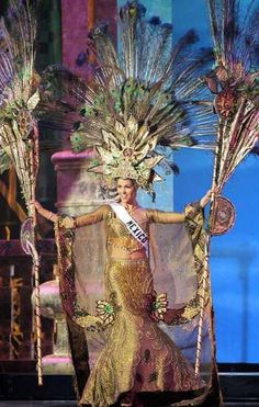 nuestra belleza mexico national costume - Google Search