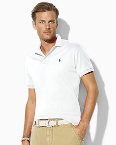Polo Ralph Lauren Custom Fit Interlock Polo | Bloomingdale's