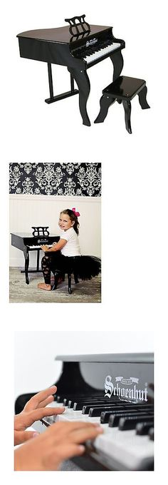 Schoenhut 30 Key Fancy Baby Grand Piano   Baby Grand Pianos, Grand Pianos  And Products