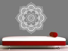 Whats Included-  Mandala Decal 22 x 22    . If a different size is desired,please email me.    (The picture above is for reference only and may not