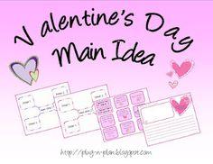 Valentine's Day Main Idea Mix-up