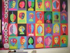 Wacky faces classroom display photo - Photo gallery - SparkleBox