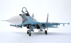 SU-27 FLANKER Model from Academy 1/48
