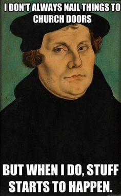Martin Luther humor