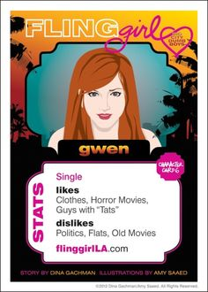 Meet Gwen - the wing girl...