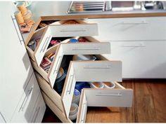 Comment choisir entre portes ou tiroirs ? - Livios