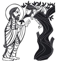 Cristo y Zaqueo