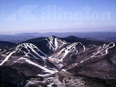 Killington ski area in Killington, Vermont - Ski / Snowboard ...