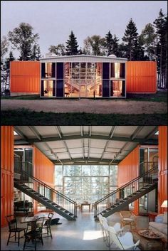 Awesome Ideas You Can Learn About Shipping Container Apartment 50 – Kawaii Interior Source by jasrivel Our Reader Score[Total: 0 Average: Related You Must See Shipping Container HomesBuilding A Shipping Container Home Shipping Container Workshop, Shipping Container Buildings, Shipping Container Home Designs, Cargo Container Homes, Building A Container Home, Storage Container Homes, Shipping Containers, Container Home Plans, Shipping Container Interior