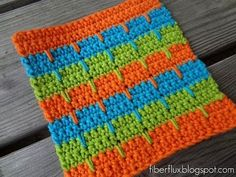 Episode 81: How to Crochet the Bahama Stripe Dishcloth (+playlist)