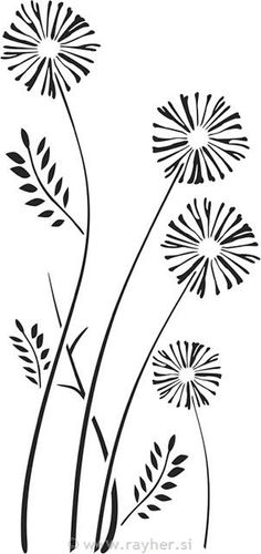 Free clip art black and white flowers flower flourishes clipart flores silvestres mightylinksfo