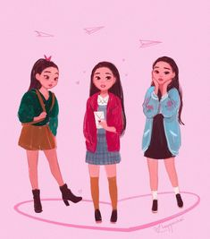 """""""You gonna break my heart, Covey?"""" is incredibly cute and Lara Jean is beyond precious 💗 (I may have also… Lara Jean, Jean Outfits, Cute Outfits, Jeans Drawing, Jean Peters, Jenny Han, Fanart, I Still Love You, Movie Characters"""