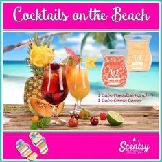 Cocktails on the BEACH, order today at www.smellarific.com.