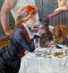 The Lutcheon of the Boating Party by Pierre Auguste Renoir