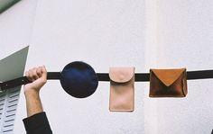 Louane James bag and belt Leather Belts, Leather Bag, Belt Pouch, Leather Design, Leather Craft, Handmade Leather, Card Wallet, Backpack Bags, Clutch Bag