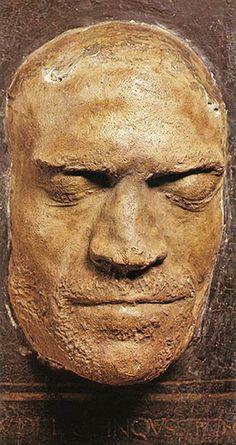 Death Mask of LORENZO de' Medici, 1492  #TuscanyAgriturismoGiratola