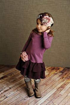 Persnickety Clothing - Rose Clip in Rose One Size Fall 2012