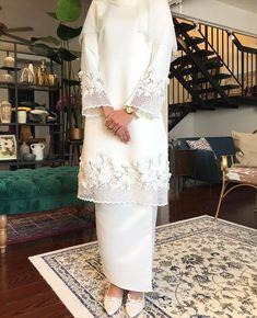 If we go traditional Muslimah Wedding Dress, Muslim Wedding Dresses, Wedding Hijab, Dream Wedding Dresses, Wedding Attire, Bridal Dresses, Wedding Themes, Hijab Fashion, Fashion Dresses