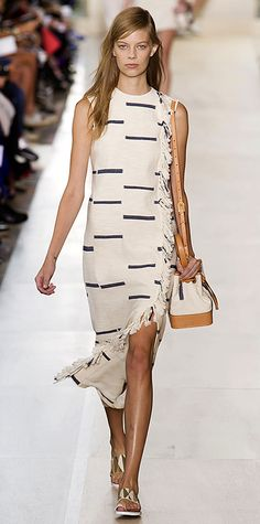 Runway Looks We Love: New York Fashion Week - Spring/Summer 2015 - Tory Burch #InStyle
