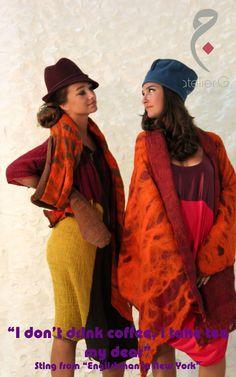 "atelierG's Autumn 2012 New Collection....""CHAI"" (Tea)"