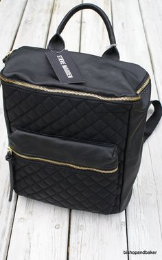 Plecak Steve Madden czarny unisex-MUST HAVE sezonu (5665602915) - Allegro.pl - Więcej niż aukcje.