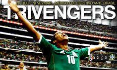 México 2-0 Brasil... El Tri tomó revancha y quedó a punto para la Eliminatoria