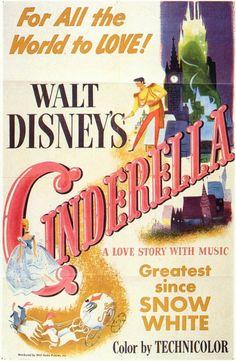 Cinderella 11x17 Movie Poster (1950)