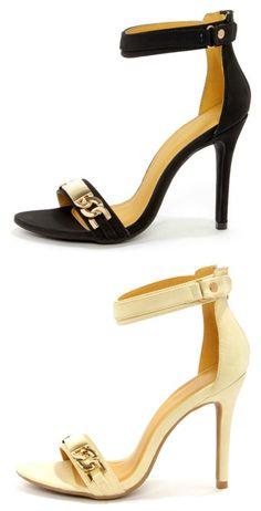 ddcfee566ad Ankle Strap Dress Sandals via lulus.com