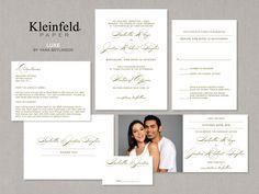 Luxe - Wedding Invitations | Kleinfeld Paper