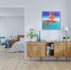 """#colorislife #peinture #painting #art #decoration #interiordesign """"La danse des 4 éléments"""" / 'The Dance of The 4 Elements' (c) Eliora Bousquet Bousquet, 4 Elements, Cabinet, Decoration, Storage, Painting, Furniture, Home Decor, Art"""