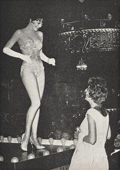 "Natalie Wood"" with Gypsy Rose Lee....  (1962)"