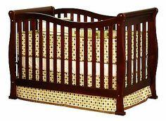 Athena Nadia 3 in 1 Crib with Toddler Rail $199