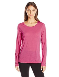 Icebreaker Women's Aero Long Sleeve Crewe ** For more information, visit image link.