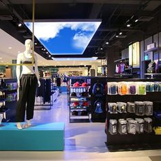Visual merchandising requires Virtual Sky. Actual moving clouds birds flying and daylighting is guaranteed to capture the attention of any customer. #retaildesign #visualmerchandising #virtualsky #windowdisplay #nyc #fashionweek #parisfashionweek #artificialsky #ledskylights #skyceiling #retailtherapy #retaildisplay #humancentreddesign #biophilia #LI