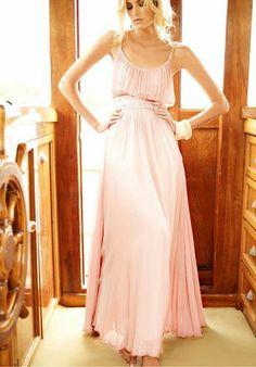 Vestido Palo rosa