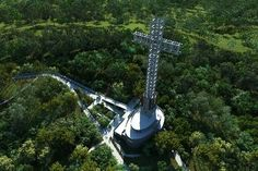 The #Cross of Santa Ana in the middle of the #jungle near Iguazu Falls In the native bush missionary, among #waterfalls, tree species and native birds, a theme park that gives the strongest views. Check your #Travel  #Tour  in #Vacations  at #IguazuFalls  in #Argentina