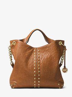 Michael Kors Astor Leather Shoulder Bag #handbags