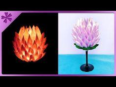 DIY How to make kanzashi ribbon candle holder (ENG Subtitles) - Speed up #396 - YouTube