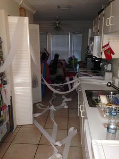 Toilet paper madness!