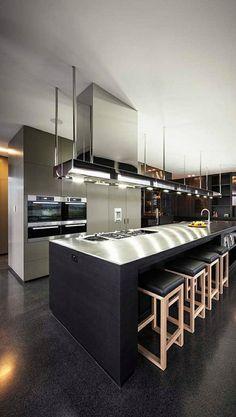 stunning modern dream kitchen design ideas and decor 2 < Home Design Ideas Home Design, Luxury Kitchen Design, Küchen Design, Luxury Kitchens, Design Ideas, Tuscan Kitchens, Design Trends, Modern Design, Diy Kitchen Decor
