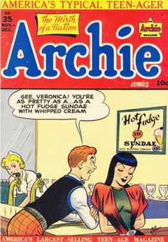 "Sneak Peek vintage ""Archie Comics"" covers commemorating the anniversary of one of the longest-running brands in the comic book indus. Archie Comics Characters, Archie Comic Books, Vintage Comic Books, Vintage Comics, Book Characters, Archie Betty And Veronica, Archie Comics Riverdale, Josie And The Pussycats, Classic Comics"