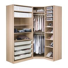 68 Ideas For Ikea Closet Komplement Pax Wardrobe Bedroom Closet Design, Master Bedroom Closet, Bedroom Wardrobe, Wardrobe Design, Closet Designs, Ikea Wardrobe, Corner Wardrobe Closet, Ikea Closet, Ikea Storage