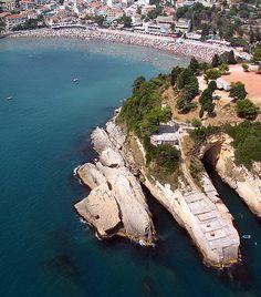 Ulcinj from airplane, #Montenegro
