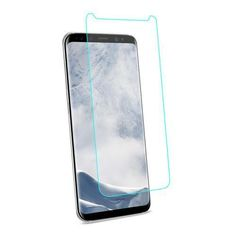 REIKO SAMSUNG GALAXY S8 EDGE/ S8 PLUS TEMPERED GLASS SCREEN PROTECTOR IN CLEAR