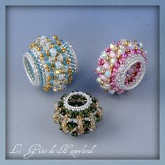 The joys of Happyland - patterns for sale - another great beaded bead