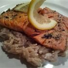 Four and a half star Super Simple Salmon recipe