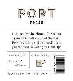 Coffee Bottle Packaging